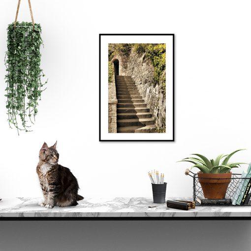 plakaty z motywem architektonicznym