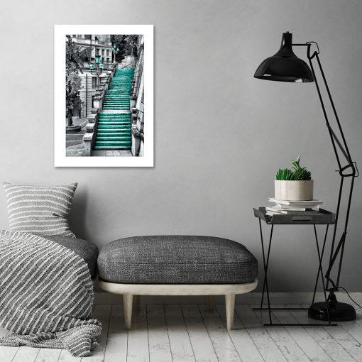 plakat z architekturą