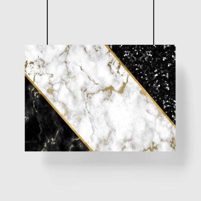 elegancki plakat marmur