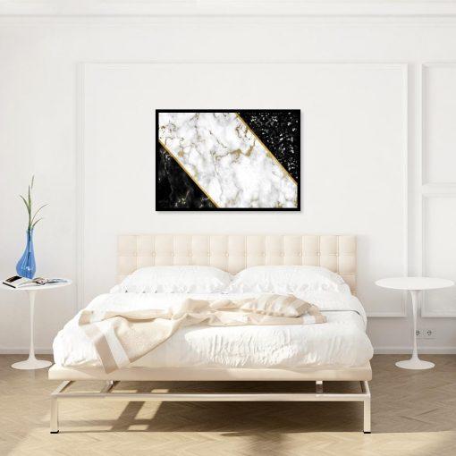 eleganckie plakaty do sypialni