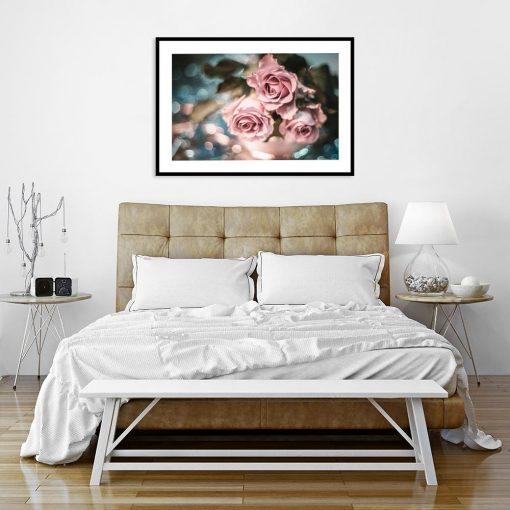 plakaty z motywem róży