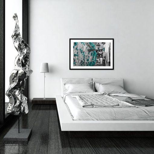 plakaty z widokiem do sypialni