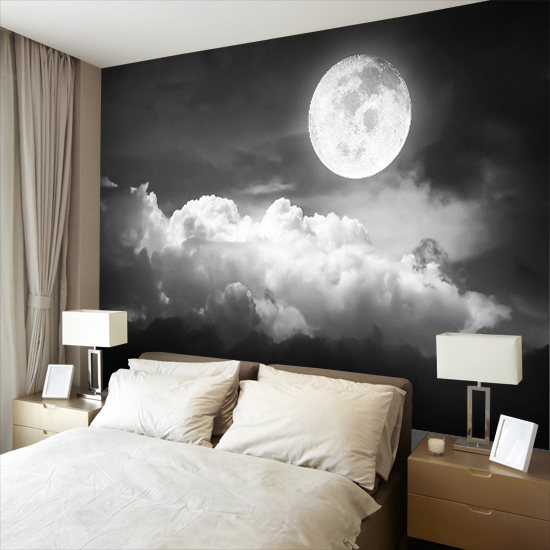 fototapeta z księżycem w pełni