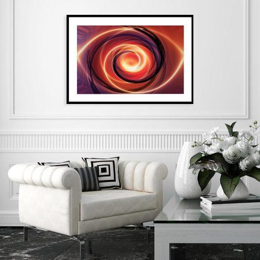plakat abstrakcja
