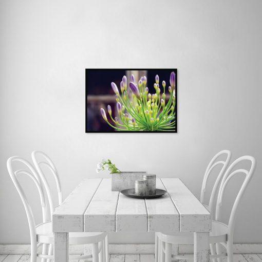 plakat zielona roślina