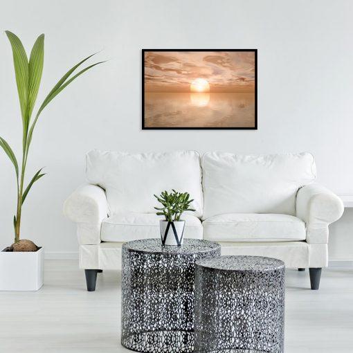 plakat krajobraz morski