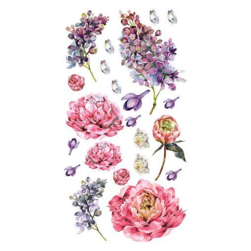 naklejka z kwiatkami do pokoju dziecka