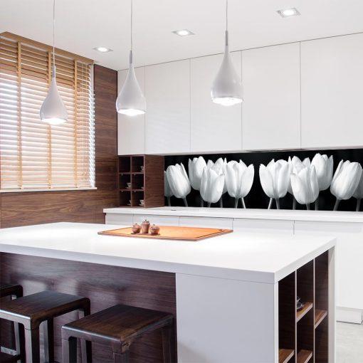 fototapeta z tulipanami do kuchni