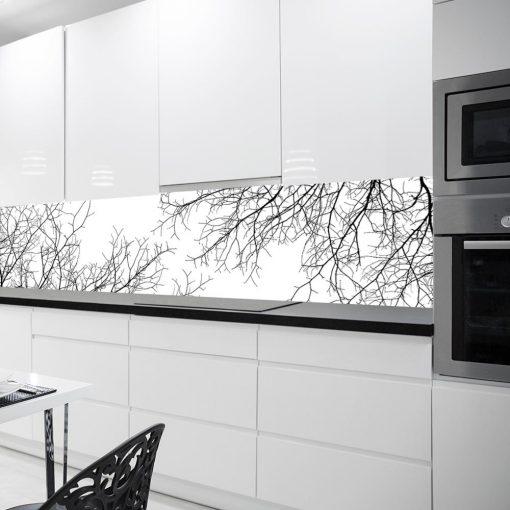 fototapeta z gałęziami do kuchni