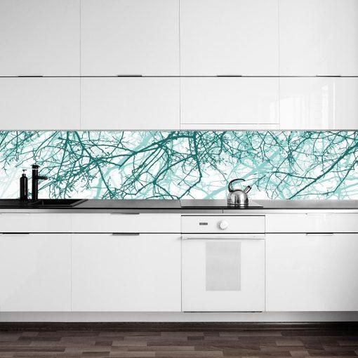 fototapeta do kuchni przedstawiająca gałęzie