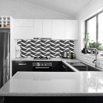 abstrakcyjna fototapeta do kuchni
