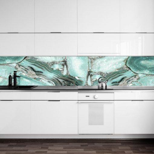 fototapeta z motywem kryształu do kuchni