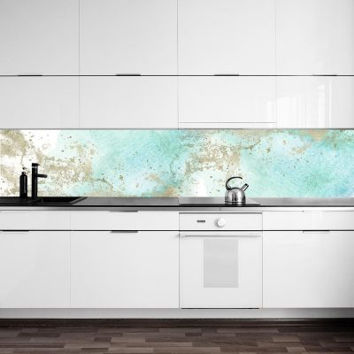 fototapeta kuchenna z akwarelową abstrakcją
