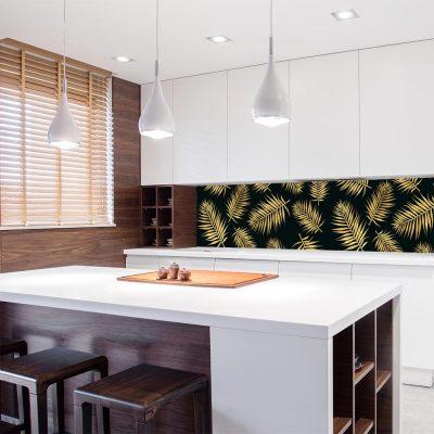 fototapeta z motywem tropikalnym do kuchni