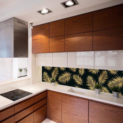 fototapeta do kuchni z palmą