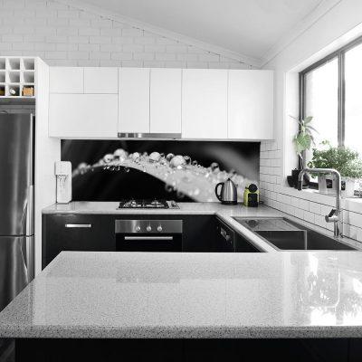 fototapeta z liściem do kuchni