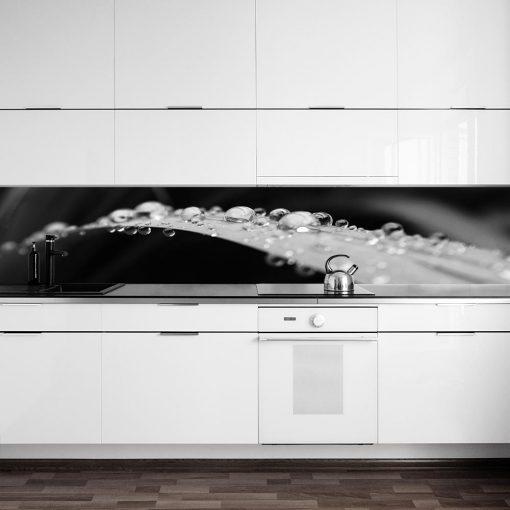fototapeta do kuchni z liściem
