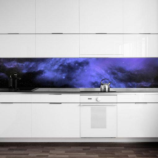 fototapeta z motywem kosmosu do kuchni