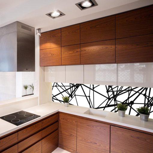 fototapeta ścienna do kuchni z abstrakcją