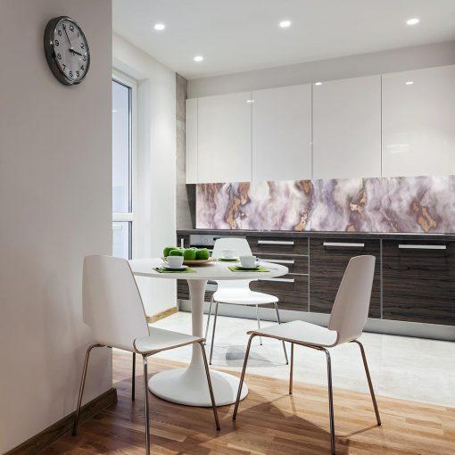 fototapeta na ścianę do kuchni z motywem marmurku