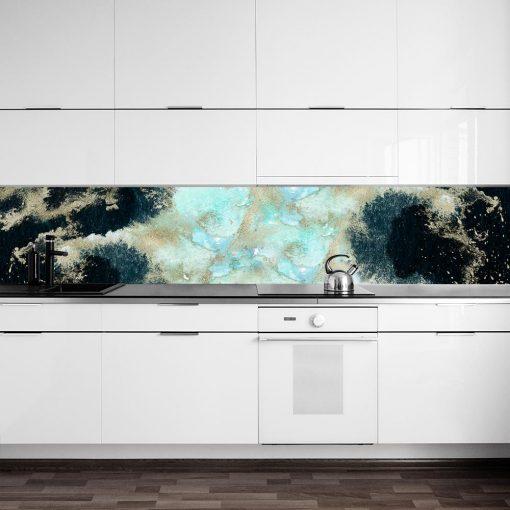 fototapeta kuchenna z abstrakcją