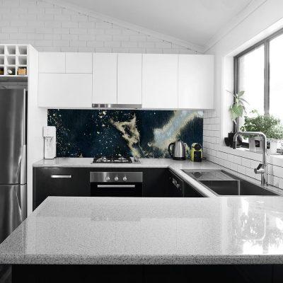fototapeta na ścianę do kuchni przedstawiająca abstrakcyjny motyw
