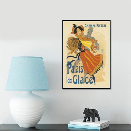 plakat elegancka kobieta