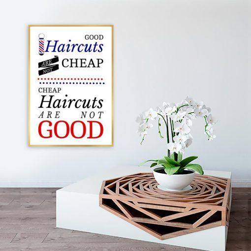 plakat dla barberów