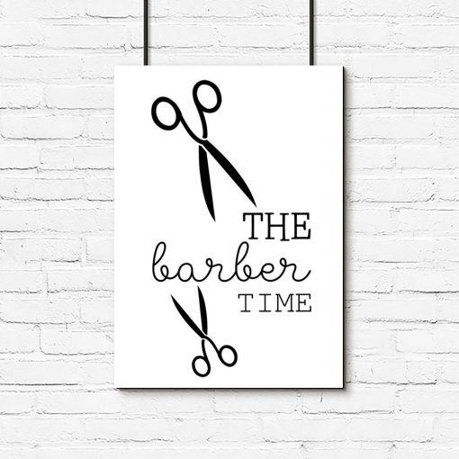 plakat the barber time