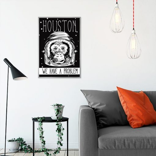 plakat z motywem kosmosu do salonu