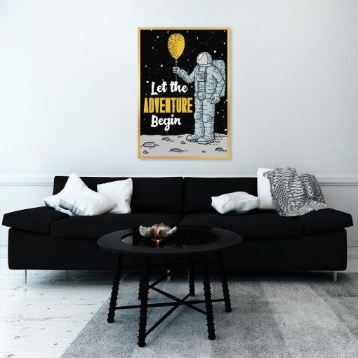 plakat na ścianę z motywem kosmosu
