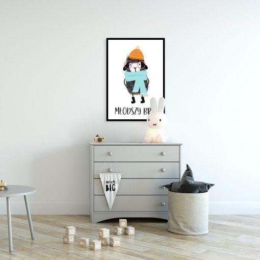 plakat z barankiem dla dziecka