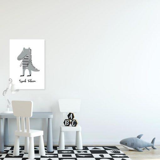 """plakat z napisem """"Synek tatusia"""""""