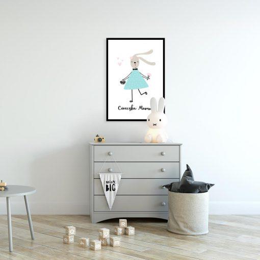 plakat dla córki