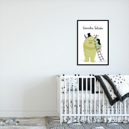 plakat dziecięcy dla córki
