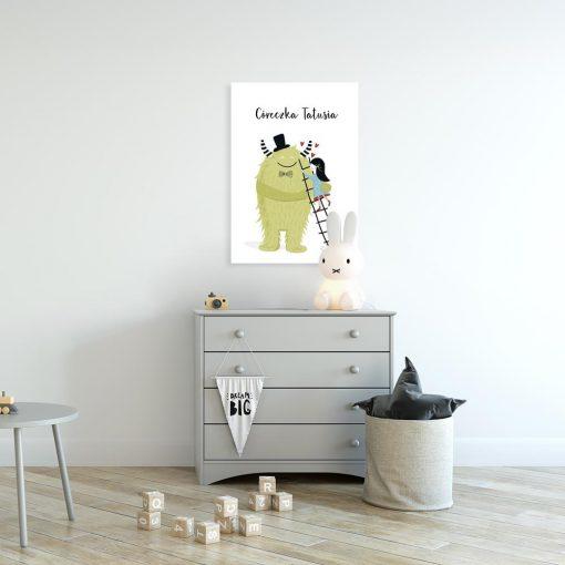 plakat dla córeczki tatusia