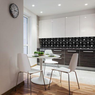 Fototapeta do kuchni z motywem geometrycznym