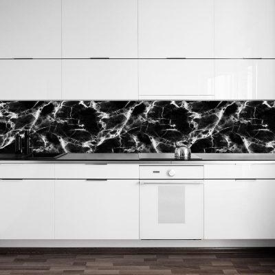Fototapeta kuchenna z marmurowym wzorem