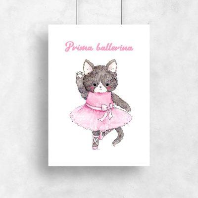 plakat z kotkiem