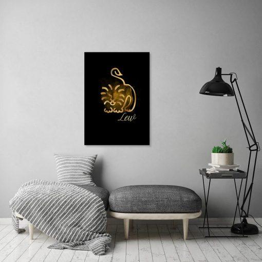 obraz salonowy ze znakiem zodiaku