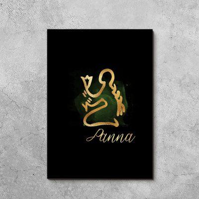 obraz ze znakiem zodiaku - Panna