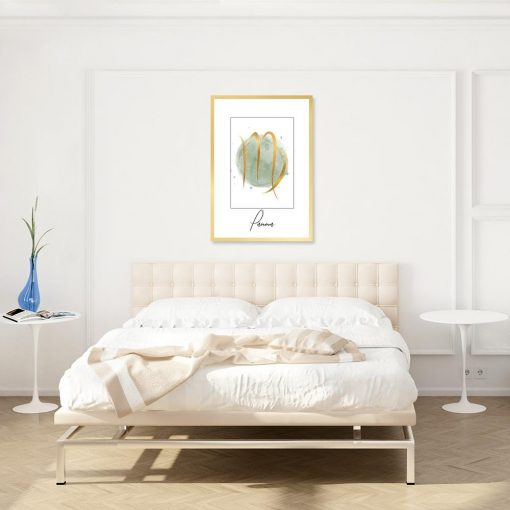 plakat zodiak panny