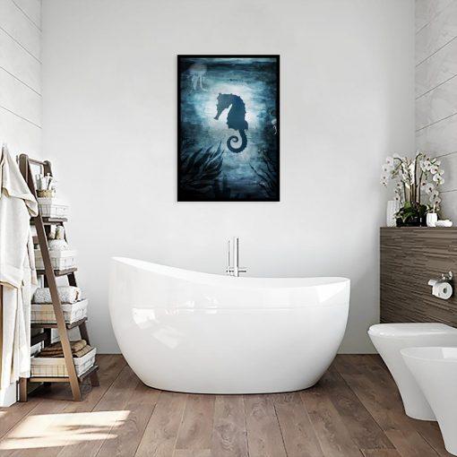 plakat konik morski