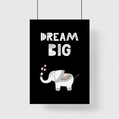 plakat dream big