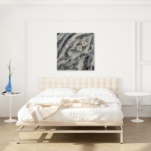 obraz z motywem abstrakcji