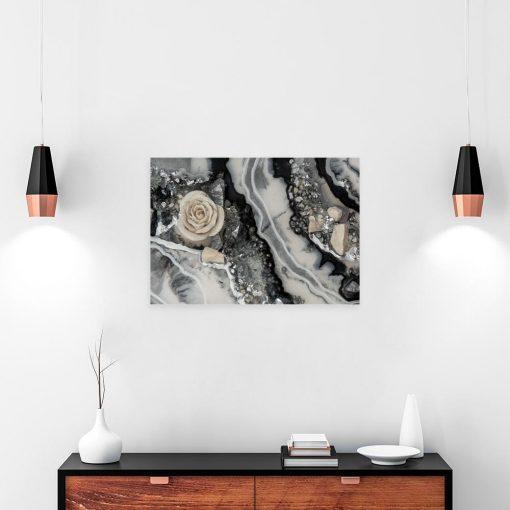 obraz do salonu z abstrakcją