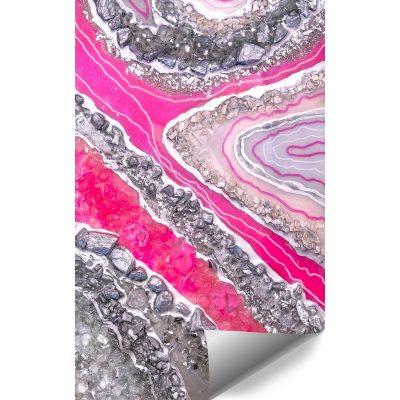 dekoracja różowa jako tapeta