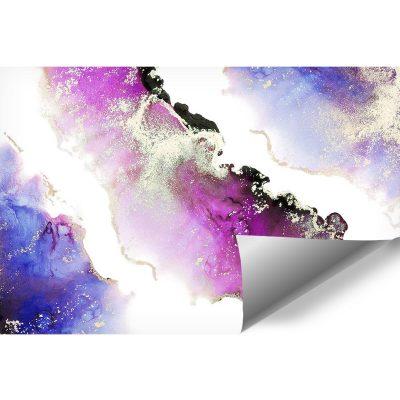 Fototapeta z fioletowymi plamami