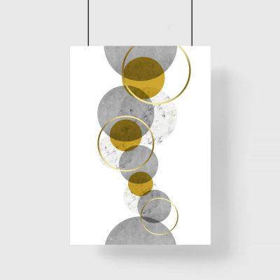 abstrakcyjny plakat