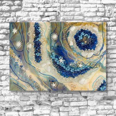 dekoracja ścienna obraz reprodukcja sztuka zywicy